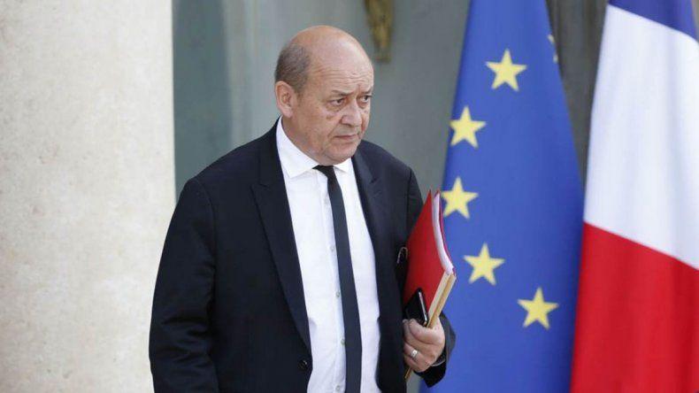 Francia pide a Rusia que presione a Siria por la paz