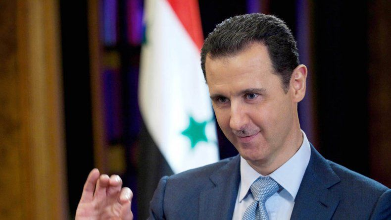 El presidente sirio dijo que el bombardeo estuvo acompañado de una campaña de mentiras
