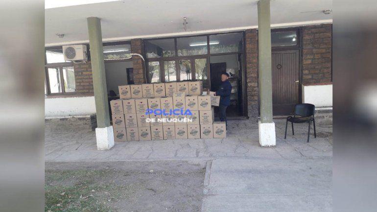 Senasa decomisó 23.400 huevos que traían a Neuquén por falta de documentación