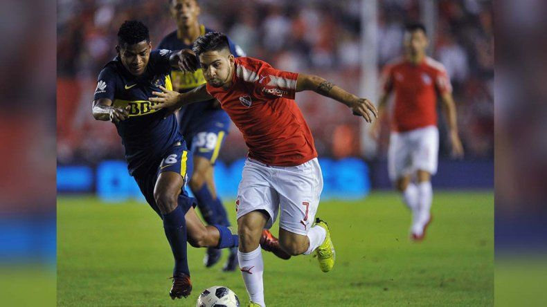 Con un escandaloso final, Boca perdió 1 a 0 con Independiente