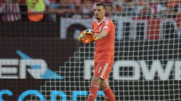 Franco hace todo como para que Sampaoli lo lleve al Mundial de Rusia.