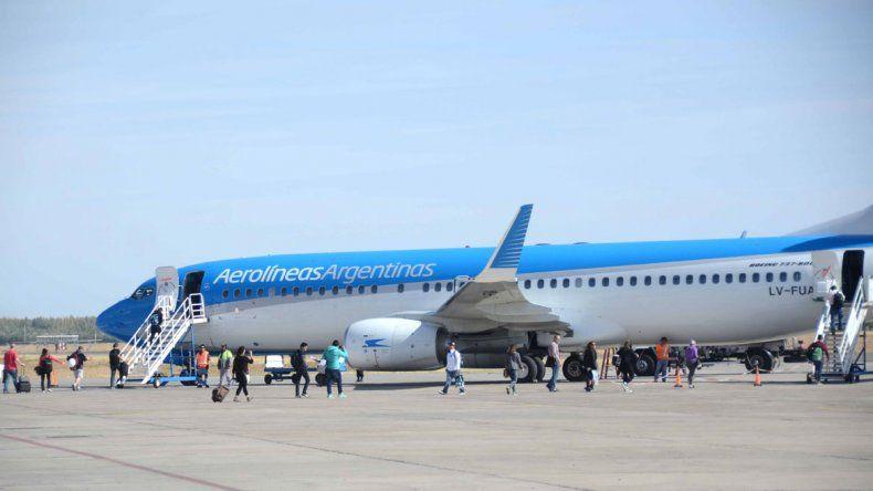 Aerolíneas anunció más vuelos para Neuquén en invierno