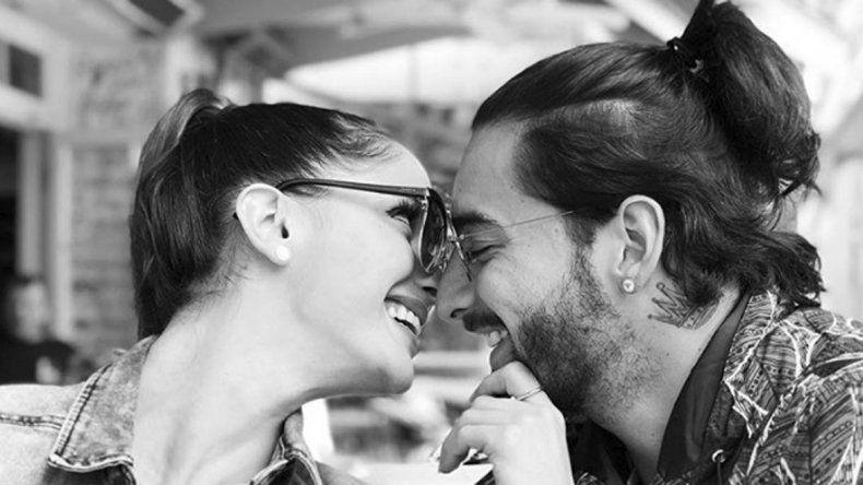 La pareja hizo pública su relación a fines de enero.