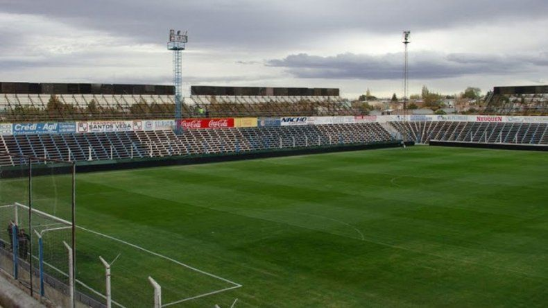El estadio de Alianza será sede de Cipolletti vs. Arsenal.