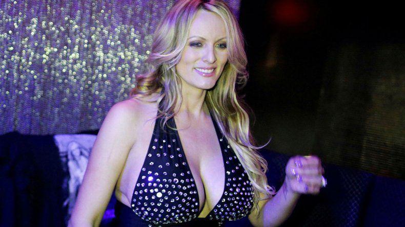 Amenazaron a la actriz porno que estuvo con Trump