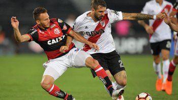 La única visita del Millo en el grupo D fue empate: 1 a 1 ante Flamengo.
