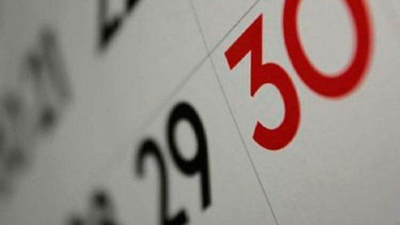 El próximo lunes 30 de abril, ¿es feriado o no?