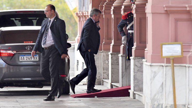 Es el acuerdo de Marcos Peña con los jefes parlamentarios de Cambiemos.