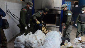 La droga secuestrada en Picún Leufú fue quemada en el crematorio del cementerio municipal de Neuquén por orden de la jueza federal de Zapala.