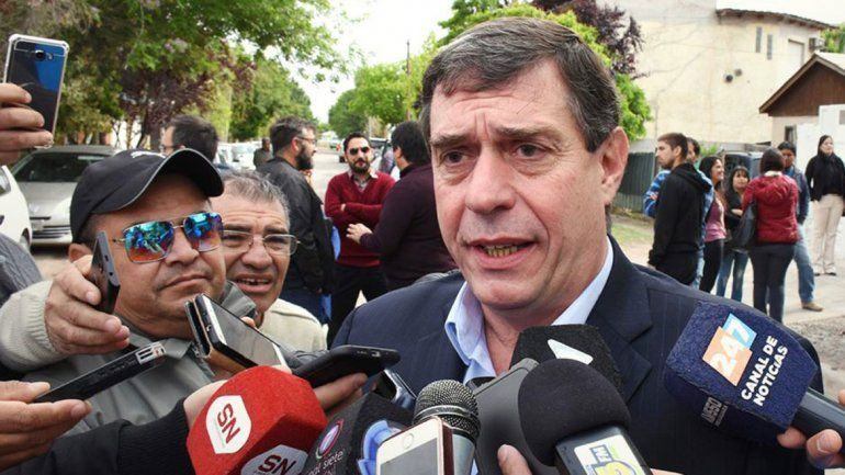 Norberto Bruno defendió la marcha de la gestión financiera.