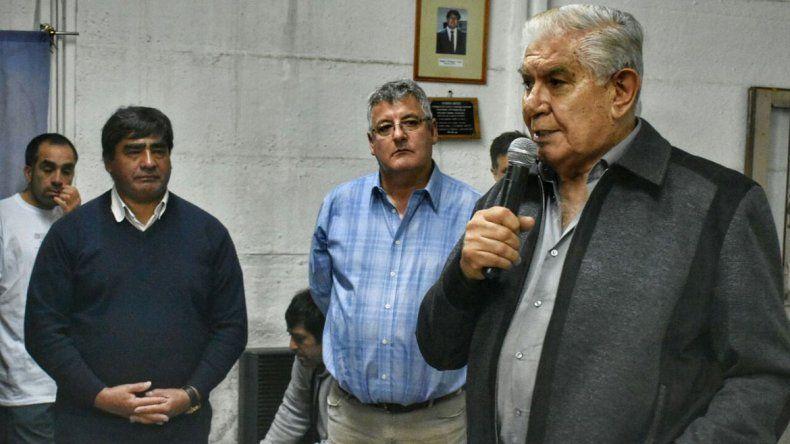 Pereyra llamó a la unidad y pidió no embarrar la cancha con candidaturas anticipadas