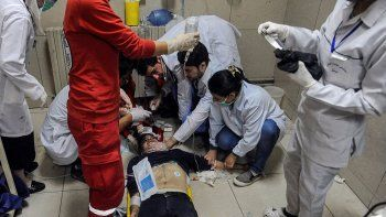 la opaq ya esta en siria para saber si hubo ataque quimico