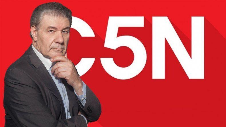 Tras su polémica salida, Víctor Hugo Morales vuelve a C5N