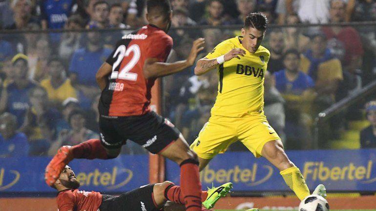 Boca recuperó la sonrisa: el líder de la Superliga le ganó 3 a 1 a Newells