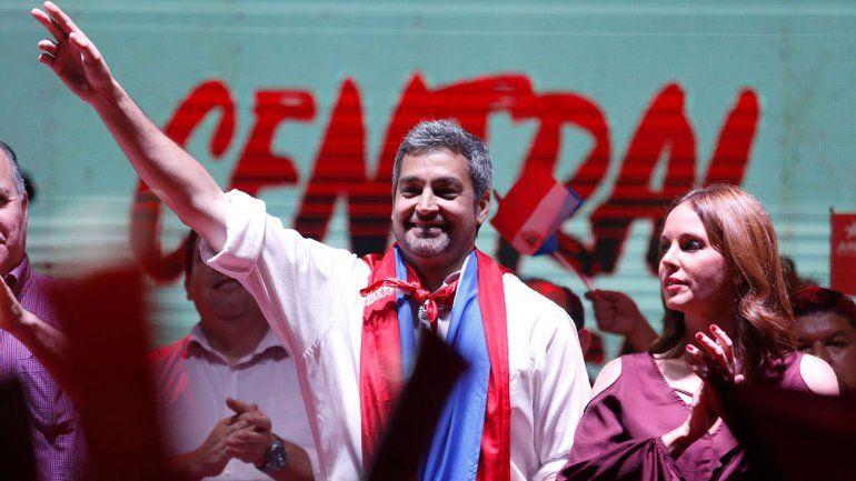 Abdo Benítez tiene 46 años y será el sucesor de Horacio Cartes.