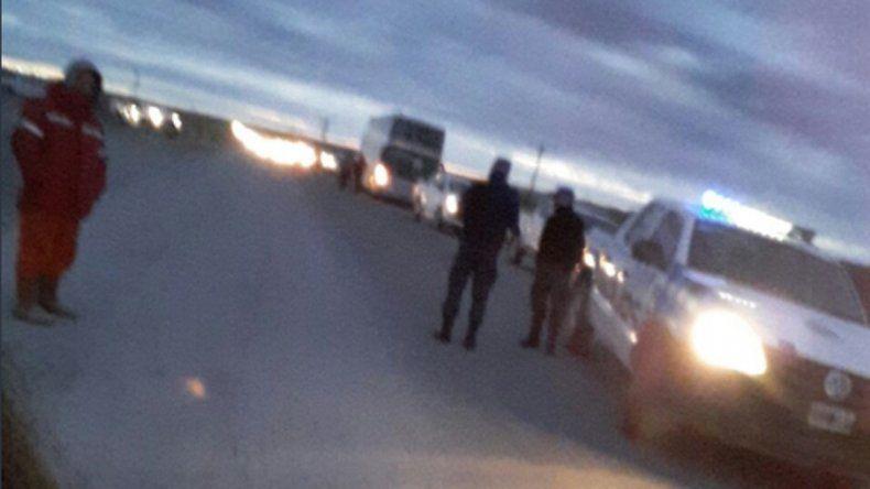 Desalojaron a seis mujeres de la Ruta 17 que reclamaban por puestos de trabajo