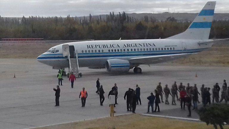 Visita presidencial: Macri llegó a Neuquén y va por primera vez a Vaca Muerta