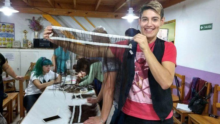 Fundación Seno hará una jornada de donación de pelo para hacer pelucas