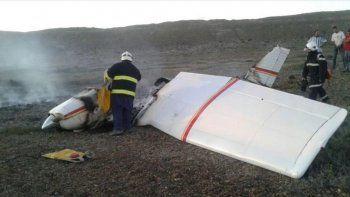 Murió el copiloto de avioneta estrellada en Chubut