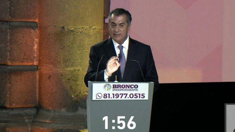 Jaime Rodríguez se presentará para ser el próximo presidente de México.