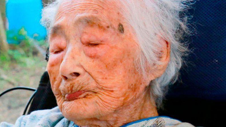 La japonesa tenía 117 años