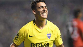 El 7 metió gol y asistencia para la victoria de Boca ante Newells que lo dejó a un paso del bicampeonato.