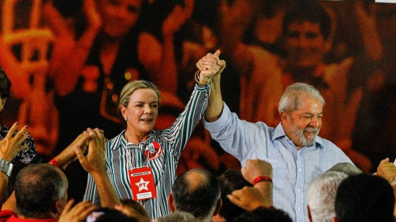 El ex presidente brasileño está preso en Curitiba desde el 7 de abril.