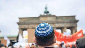 Tiene que ver con recientes hechos de antisemitismo en Berlín.