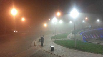 la niebla complica el transito en las rutas neuquinas