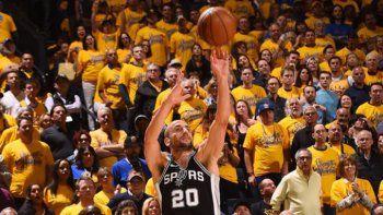 Los Spurs no pudieron con los campeones