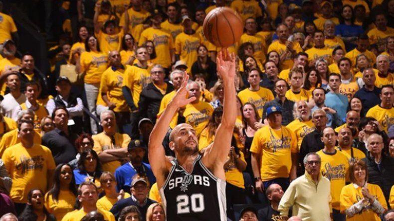 Los Spurs no pudieron con los campeones y quedaron eliminados
