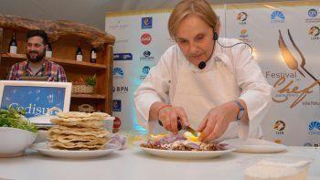 Mirá el menú que Dolli Irigoyen hará para el Festival del Chef