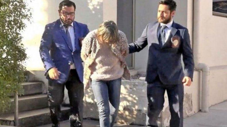 Roxana Guerra Zamorano fue detenida por parricidio en Chile.