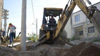 tendran agua unas 200 familias de asentamientos que son regularizados