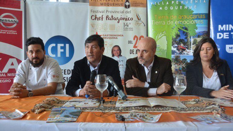 Pehuenia le pondrá pimienta a la cordillera con su Fiesta del Chef