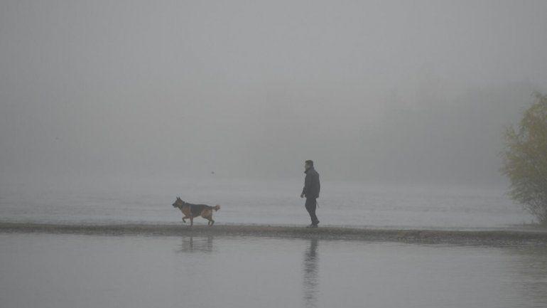 No se ve nada: otra vez, la niebla tapó la ciudad