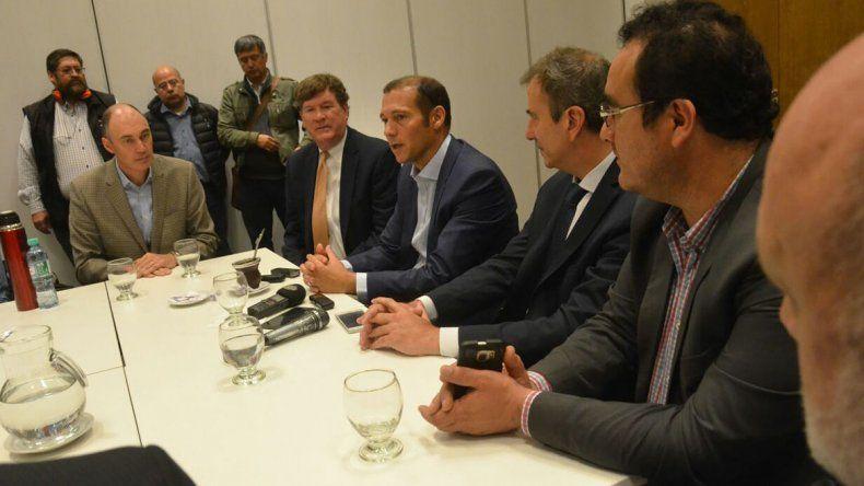 Gutierrez anunció que en un mes estará listo el hospital de Añelo