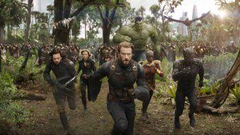 los superheroes de marvel  se unen para salvar el planeta