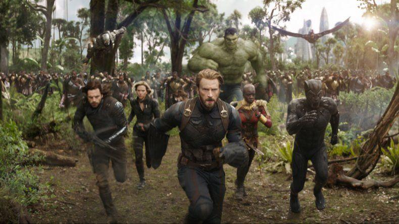 Los superhéroes de Marvel  se unen para salvar el planeta