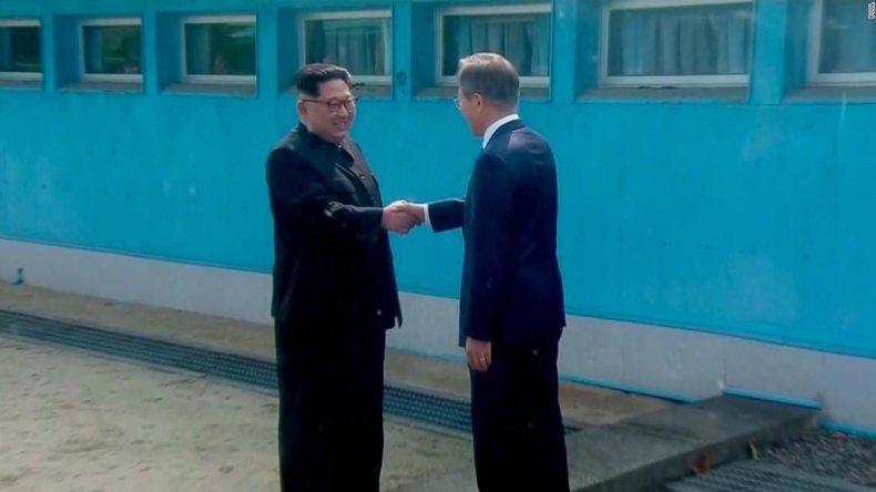 Histórico encuentro de los líderes de las dos Corea
