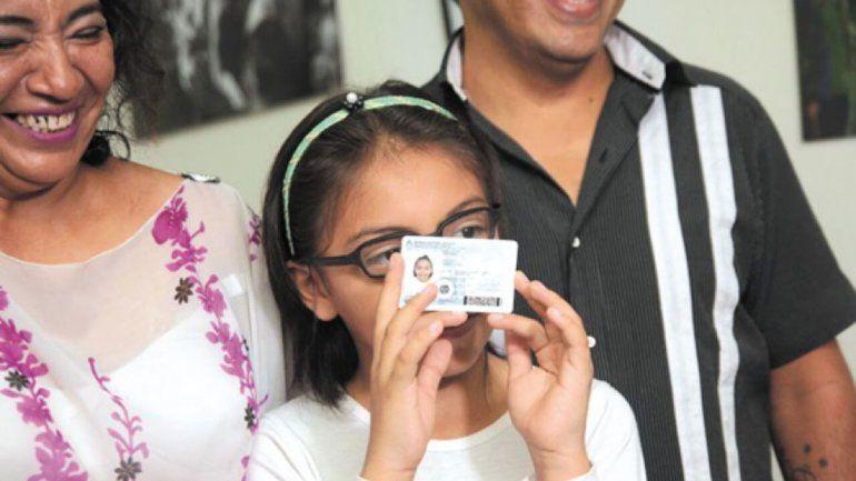 La nena trans de 10 años ya tiene su DNI femenino