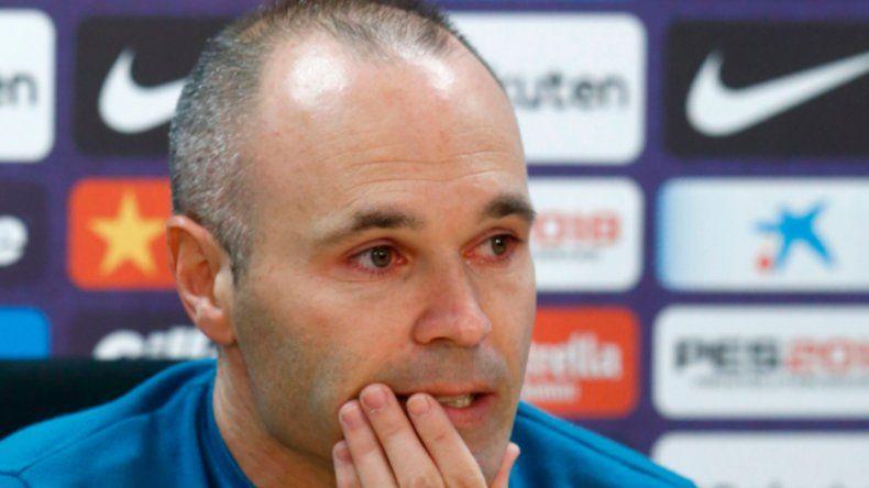 Iniesta se despidió del Barça: Me he dejado el alma