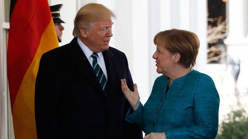 Trump recibirá a Merkel para hablar de los aranceles