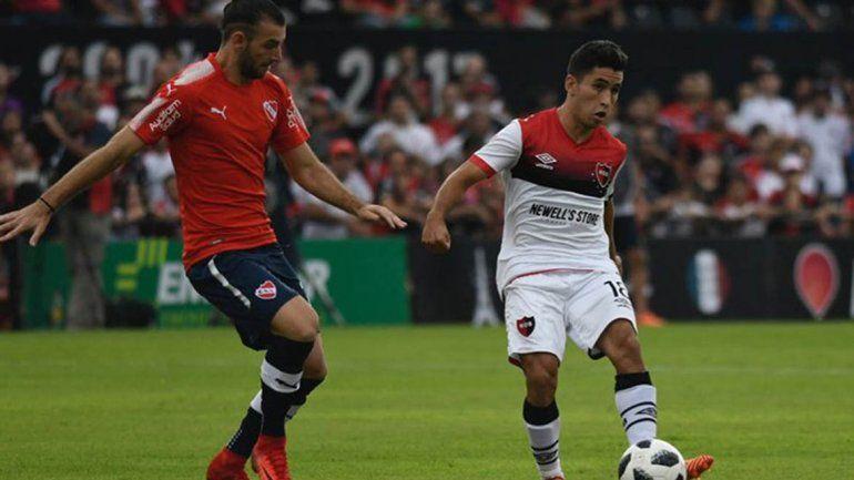 Tres puntos de oro: Independiente le ganó por la mínima a Newells
