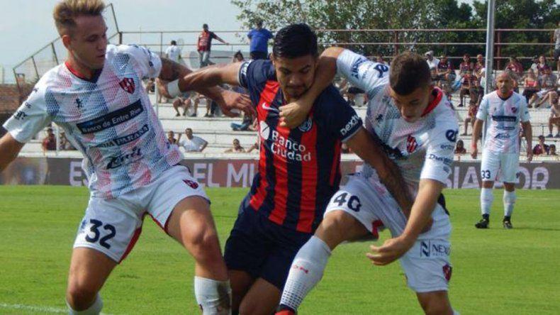 San Lorenzo empató sin goles y sufriendo ante Patronato
