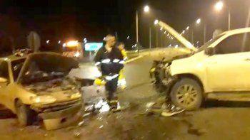 Finde trágico: murió un bebé en un accidente en la Ruta 7
