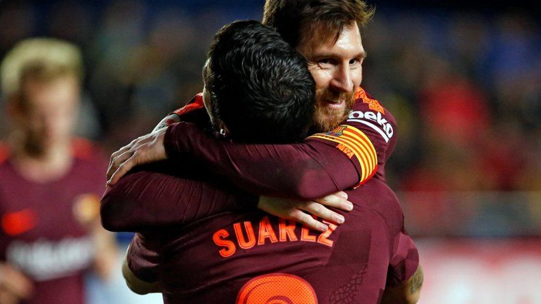 Con un hat trick de Messi, Barcelona se coronó campeón en España