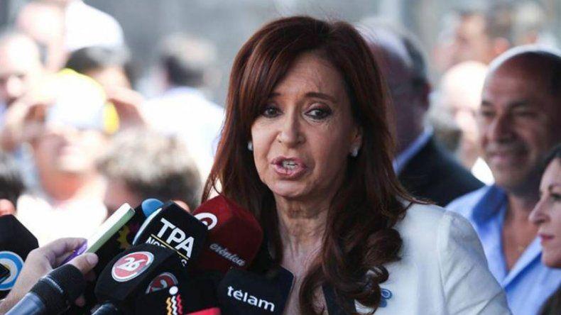Cristina negó ante Bonadio el cobro de coimas