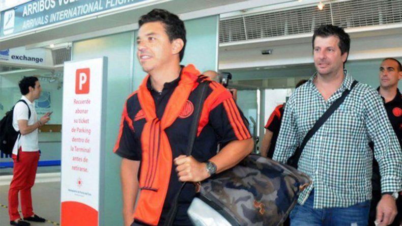 Gallargo no dejó muchas dudas antes de irse con el equipo a Colombia.