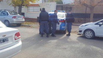 El agresor fue detenido a pocos metros del lugar.